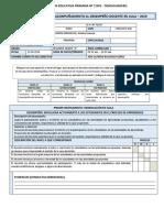 Ficha Del Monitoreo y Acompañamiento Del Desempeño Docente Actualizada 2019