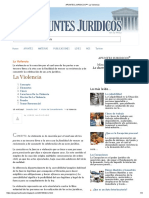 APUNTES JURIDICOS™_ La Violencia