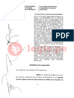 CAS 46-2018-Nacional PENAL ~Naturaleza juridica del acuerdo plenario_Principio de seguridad jurídica