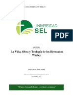 Vida y Teología de Los Hermanos Wesley