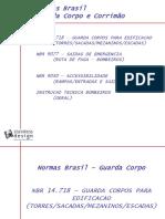 ABNT NBR Guarda Corpo Corrimao de Inox Normas Brasil