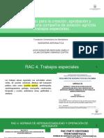 Procedimiento Para La Creación, Aprobación y Certificación de Una Compañía de Aviación Agrícola (Trabajos Especiales).