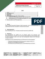 LDeS 0201.05 de Dichtheitsprüfung Am Wechselventil COV