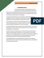 Informe General de Suelos
