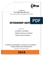 Jk Mysore Intership Report