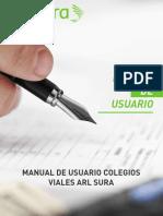 Colegiosviales ARLSURA Manual Usuario