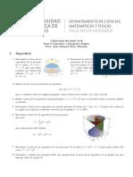 Cálculo III Guía 6 Superficie IntegralesTriples