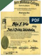 MELJUN CORTES Diploma Masteral MBA 2003