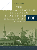 The Popularisation of Sufism in Ayyubid and Mamluk Egypt, 1173-1325