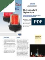 LED Obstruction Light Alpha 1 - 4