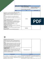 Planificación Unidad Didáctica Nº 6 Lenguaje .Cuarto Año