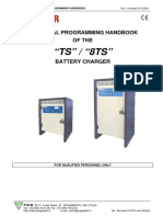 Hawker 8TS battery charger - Technical programing Handbook