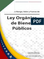 Ley Organica de Bienes Publicos