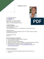 Colceag Florian Ccurriculum Vitae