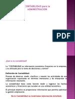 Presentacion Contabilidad Empresarial I