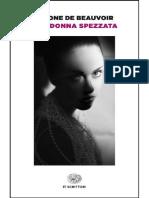 Simone de Beauvoir - Una donna spezzata.pdf
