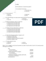 Business Tax - Prelim Exam - Set b