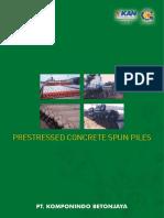 Spun Piles PT. Komponindo Betonjaya