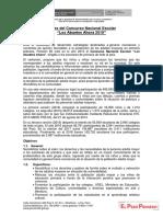 Bases Del Concurso LOS ABUELOS AHORA 2019 - Primaria