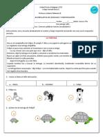 Comprension lectora LA  TORTUGA  segundo.docx