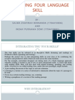 Integrating Four Language Skill (Ppt)