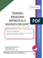 2018 Mes 12 Dia 04 - e. Celulas - Diezmo - Diac. Mario Ortiz
