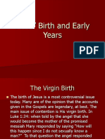 Jesus Birth and Early Years