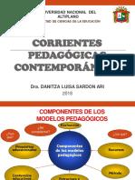 Corrientes Pedagógicas 2018 II