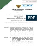 Permendesa 19 Tahun 2017 Ttg Penetapan Prioritas DD Tahun 2018 - Tanda
