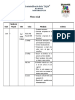 Informe Del Proyecto Comer Sano 4 2019
