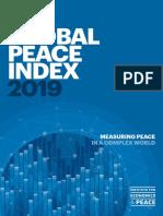 Índice de Paz Global 2019
