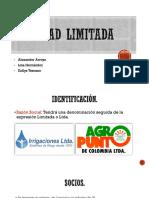 Sociedad limitada- Alexander Arroyo.pptx
