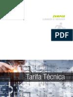 201906 Zemper Tarifa 2019