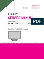 Lg 32ld310-La Chassis Lp92a