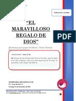 2018 Mes 12 Dia 16 - e. Celulas - El Maravilloso Regalo de Dios - Pr. Juan Baxter g.