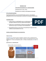 Informe Del Balon de Gas