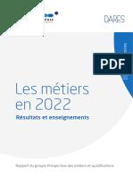 Annexe 2-Synthèse Sur Les Métiers en 2022-France Stratégie