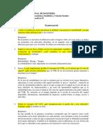1. Finanzas Corporativas II - Examen Parcial - Solución