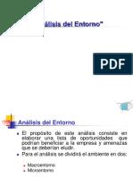 Analisis Del Macroentorno y Microentorno