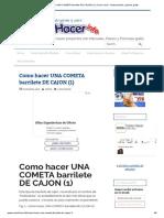 Como hacer UNA COMETA barrilete DE CAJON (1) _ Como hacer - Instrucciones y planos gratis.pdf