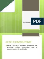 Presentación Poder Constituyente