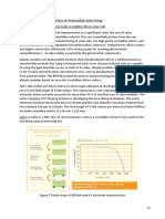 R&D Photovoltaic Solar Panels
