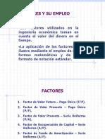 Factores y Su Empleo 1