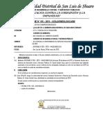 INF. N° 105 - PAGO DEL ASISTENTE