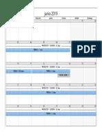 Diagrama de Gantt Desde Vista de Calendario