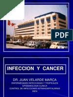 Cancer e infeccion Dr Velarde