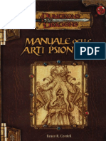 [D&D 3.0 ITA] Supplemento - Manuale Delle Arti Psioniche