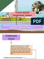 Tugas Besar Perbaikan Tanah