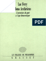 Ferry, Luc - Homo Aestheticus