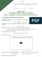 Algebra Lineal 15